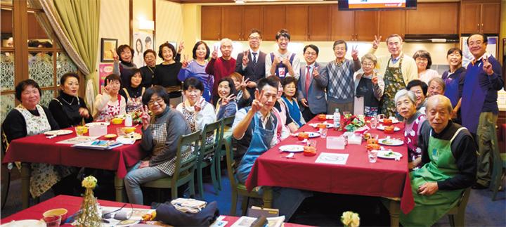 昨年11月20日「大阪ガス クッキングスクール 神戸」(兵庫県神戸市)にて開催。