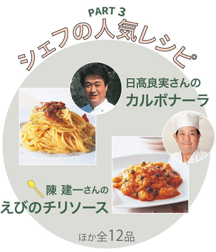 PART3 お店に行かずに同じ味 シェフの人気レシピ
