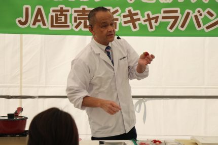 日本料理研究家 斉藤辰夫さん