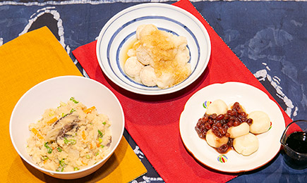 料理 3品