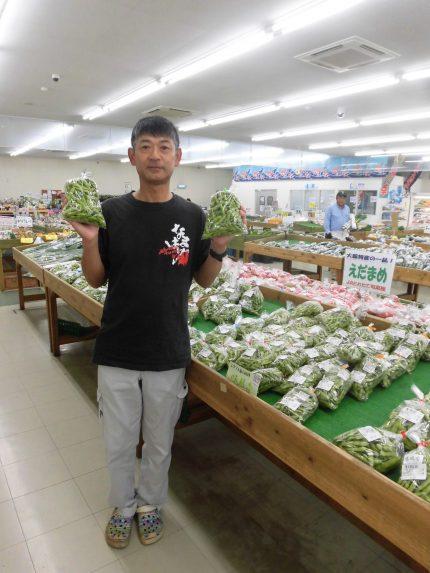 枝豆生産者 平井金弘さん
