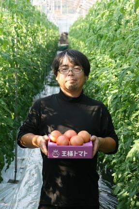 トマト生産者 吉永貴之(よしながたかゆき)さん