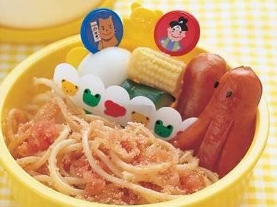 たらこスパゲッティ弁当 幼児向け