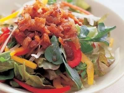 カリカリ豚サラダ仕立て レシピ 本多 京子さん 【みんなのきょうの料理】おいしいレシピや献立を探そう