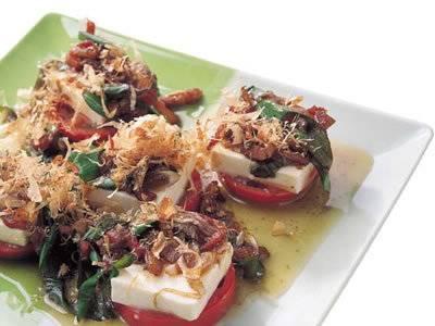 豆腐のカプレーゼ風 レシピ 落合 務さん|【みんなのきょうの料理】おいしいレシピや献立を探そう