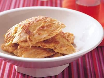 【今日の料理】【今日の料理】卵とねぎの炒め物