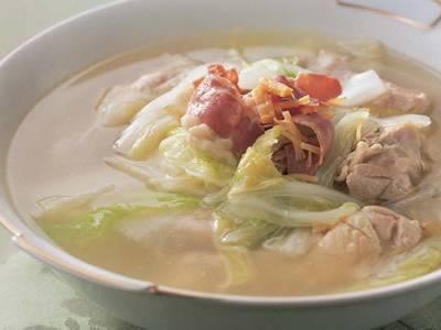鶏肉と白菜のスープ煮 レシピ 王馬 熙純さん 【みんなのきょうの料理】おいしいレシピや献立を探そう