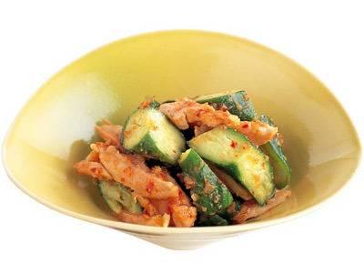 鶏肉ときゅうりのとうがらしみそあえ レシピ 鮫島 正樹さん|【みんなのきょうの料理】おいしいレシピや献立を探そう