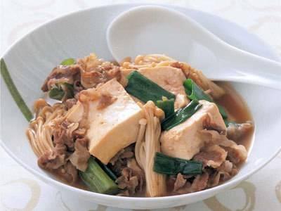 肉豆腐 レシピ 高城 順子さん|【みんなのきょうの料理】おいしいレシピや献立を探そう