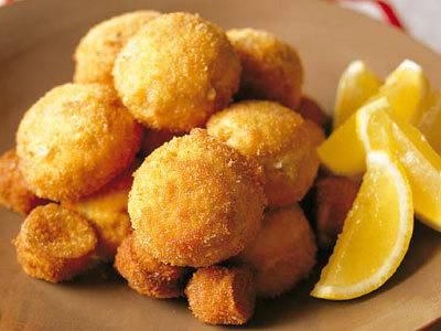 マッシュルームのチーズ詰めフライ レシピ 山岡 昌治さん|【みんなのきょうの料理】おいしいレシピや献立を探そう