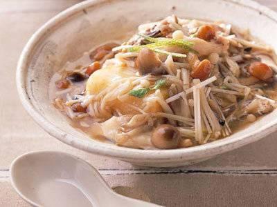 揚げ豆腐のきのこあんかけ レシピ 野崎 洋光さん|【みんなのきょうの料理】おいしいレシピや献立を探そう