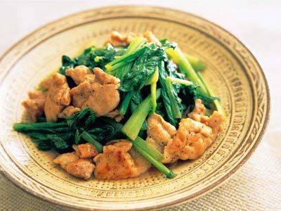 豚肉と小松菜のサッと炒め レシピ 田口 成子さん|【みんなのきょうの料理】おいしいレシピや献立を探そう