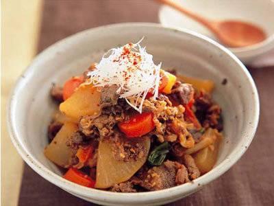 牛肉と大根の薬味煮 レシピ 堀江 ひろ子さん|【みんなのきょうの料理】おいしいレシピや献立を探そう