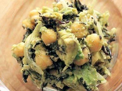 アボカドのひじきサラダ