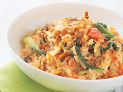 納豆ビビンバ レシピ マロンさん|【みんなのきょうの料理】おいしいレシピや献立を探そう