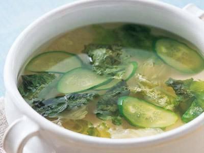 サニーレタスのスープ