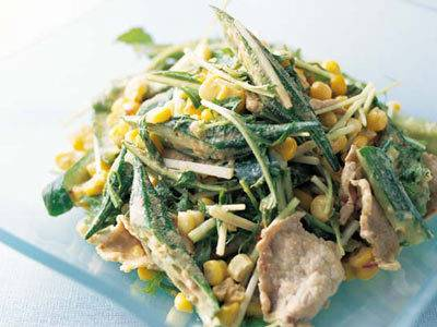 コーンのおかずサラダ レシピ 藤野 真紀子さん|【みんなのきょうの料理】おいしいレシピや献立を探そう