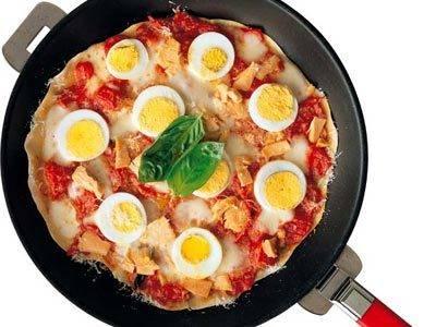 フライパンピザ レシピ 飯塚 宏子さん|【みんなのきょうの料理】おいしいレシピや献立を探そう