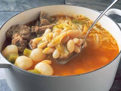 ガリシア風いんげん豆のスープ レシピ 辰巳 芳子さん|【みんなのきょうの料理】おいしいレシピや献立を探そう