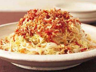 白菜のパリパリサラダ レシピ 陳 建一さん|【みんなのきょうの料理】おいしいレシピや献立を探そう