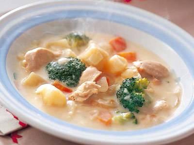 さむ~い冬に!野菜たっぷりあったかシチューで栄養満点!