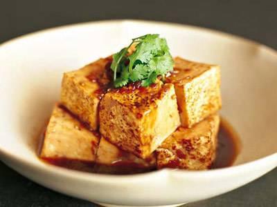 焼き豆腐の含め煮