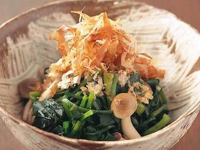 クレソンとしめじのおひたし レシピ 村田 裕子さん|【みんなのきょうの料理】おいしいレシピや献立を探そう