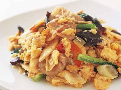 卵ときくらげの炒め物 レシピ 陳 建一さん|【みんなのきょうの料理】おいしいレシピや献立を探そう