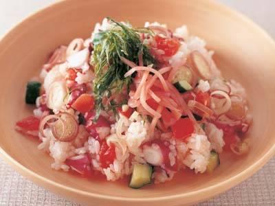 トマトとたこのちらしずし レシピ 爲後 喜光さん|【みんなのきょうの料理】おいしいレシピや献立を探そう