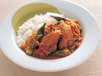きょう の 料理 チキン カレー