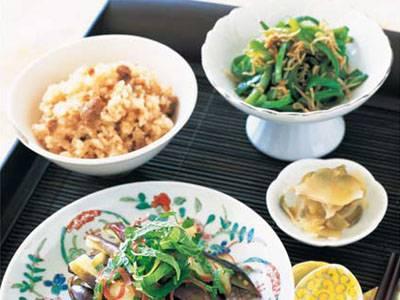 豚しょうがの炊き込みご飯(写真左上) レシピ 栗原 はるみさん|【みんなのきょうの料理】おいしいレシピや献立を探そう