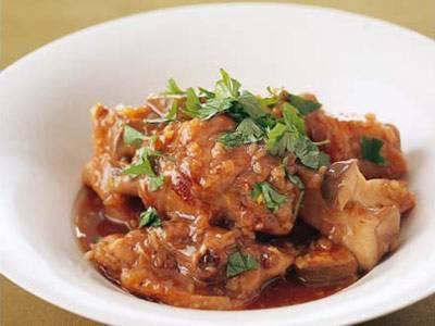 鶏骨つき肉のアンチョビ風味煮込み レシピ 西部 るみさん|【みんなのきょうの料理】おいしいレシピや献立を探そう