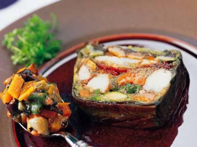 えびと野菜のテリーヌ レシピ 新屋 信幸さん|【みんなのきょうの料理】おいしいレシピや献立を探そう