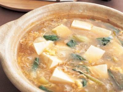 帆立てのトロトロ湯豆腐 レシピ 藤野 嘉子さん 【みんなのきょうの料理】おいしいレシピや献立を探そう
