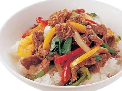 牛肉ピーマン丼(セゴギトッパプ) レシピ ジョン・キョンファさん|【みんなのきょうの料理】おいしいレシピや献立を探そう