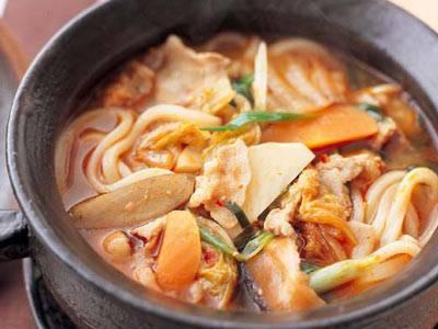 キムチと根菜のピリ辛うどん レシピ ジョン・キョンファさん|【みんなのきょうの料理】おいしいレシピや献立を探そう
