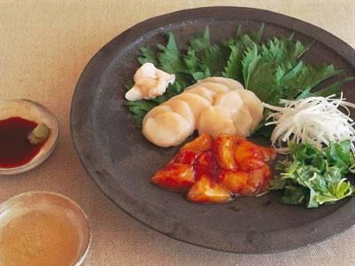 帆立ての変わり刺身 レシピ 高山 なおみさん|【みんなのきょうの料理】おいしいレシピや献立を探そう