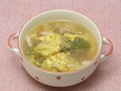 春キャベツのコンソメスープ レシピ |【みんなのきょうの料理】おいしいレシピや献立を探そう