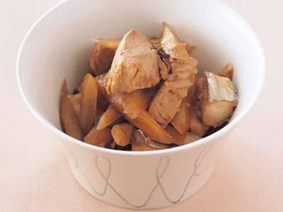かつおと新ごぼうの煮物 レシピ 田口 成子さん 【みんなのきょうの料理】おいしいレシピや献立を探そう
