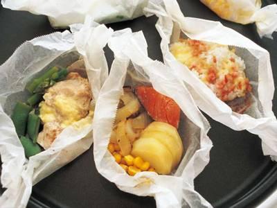 紙包み焼き3種 レシピ 渡辺 あきこさん 【みんなのきょうの料理】おいしいレシピや献立を探そう