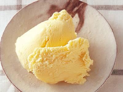 基本のアイスクリーム(ミルクアイス)