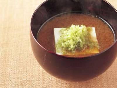 豆腐とみつばのみそ汁 レシピ 村田 吉弘さん|【みんなのきょうの料理】おいしいレシピや献立を探そう