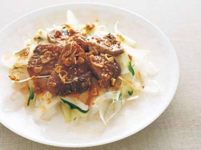 かつおの韓国風刺身サラダ レシピ 本多 京子さん|【みんなのきょうの料理】おいしいレシピや献立を探そう