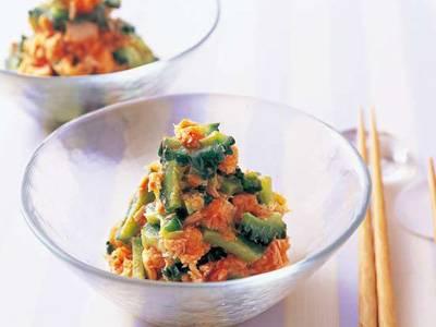 ゴーヤーとツナのおろしあえ レシピ 陳 建一さん|【みんなのきょうの料理】おいしいレシピや献立を探そう