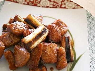 さけとねぎの黒酢ソースあえ レシピ  【みんなのきょうの料理】おいしいレシピや献立を探そう
