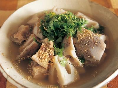 れんこんと豚バラのベトナム風煮込み