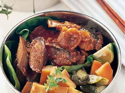さばのレンジみそ煮弁当 レシピ 栗原 はるみさん|【みんなのきょうの料理】おいしいレシピや献立を探そう