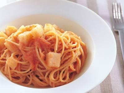 新じゃがとたらこのスパゲッティ レシピ 笹島 保弘さん|【みんなのきょうの料理】おいしいレシピや献立を探そう