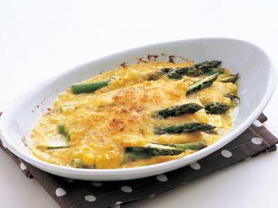 アスパラのグラタン レシピ 村田 裕子さん|【みんなのきょうの料理】おいしいレシピや献立を探そう