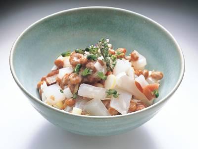 いか梅納豆 レシピ 河合 真理さん|【みんなのきょうの料理】おいしいレシピや献立を探そう